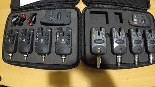Стойка для электронные сигнализаторы поклевки с пейджером