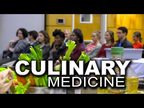 Video: Medical students hungry for culinary wisdom