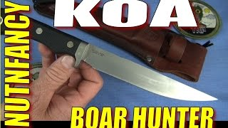 Knives of Alaska Boar Hunter knife: Man Enough?