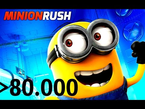 Despicable Me: Minion Rush - набираем 80.000 [Full HD / Windows 8]