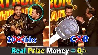 खतरों के खिलाड़ी जीत के असल में क्या मिला । Real Prize Money after Tax of Khatron ke Khiladi 9
