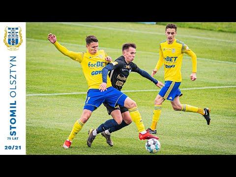 Skrót meczu Stomil Olsztyn - Arka Gdynia 1:1