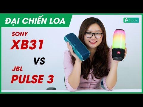 [Đại chiến loa] JBL Pulse 3 vs Sony SRS-XB31 l Loa nào hơn?
