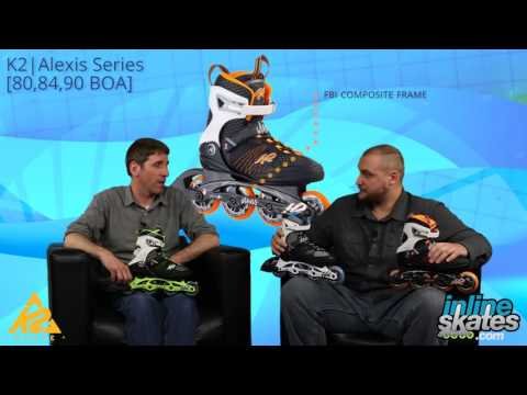 Video: 2017 K2 Alexis Series Womens Inline Skate Overview by InlineSkatesDotCom
