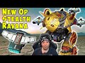 NEW OP Stealth Ravana with Cloaking Unit - War Robots Mk2 Gameplay WR