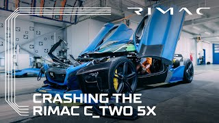 CRASHING THE RIMAC C_TWO HYPERCAR 5X
