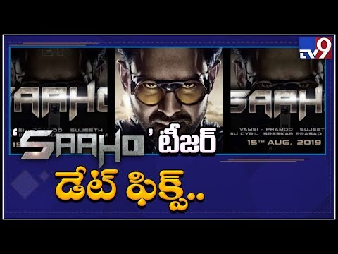 Actor Prabhas New Movie Saaho teaser to arrive on June 13