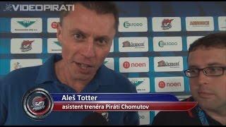 6. kolo Piráti Chomutov - SK Horácká Slavia Třebíč 4:1 ohlasy trenérů