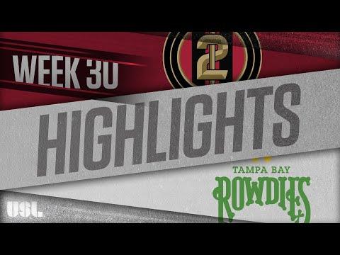 Atlanta United 2 - Tampa Bay 1:1. Видеообзор матча 04.10.2018. Видео голов и опасных моментов игры