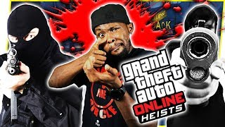 WE BROKE INTO MY OWN HOUSE FOR THE HEIST FINALE! - GTA Online Heist Gameplay
