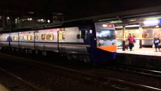 preview picture of video '台鐵區間車到達新竹站 A local train arriving Hsinchu Station (01149)'