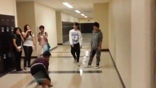 Cool kids VS nerds! Dance battle (Clark DFC)