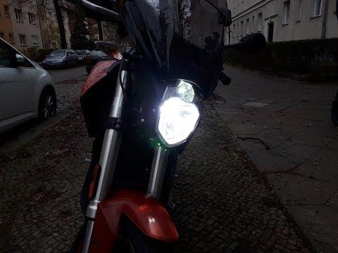 ZERO SR 13.0 auf LED Scheinwerfer umrüsten