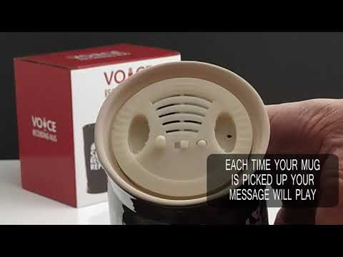 Youtube Video for Voice Recording Mug  – Say whatever you want!