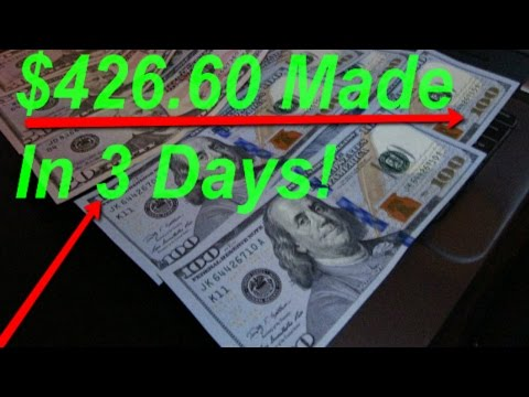 How To Make Money Online Fast! LEGIT $426.60 Made In 3 Days! Watch NOW