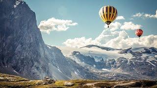 Путешествие на воздушном шаре!