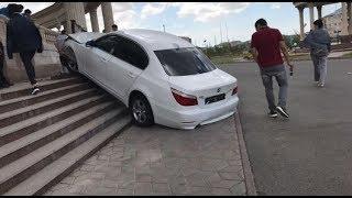 ИДИОТЫ НА BMW #2 - ОЛЕНИ НА ДОРОГАХ 2017