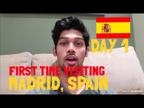 TRAVEL VLOG: Welcome to MADRID | SPAIN | DAY 1