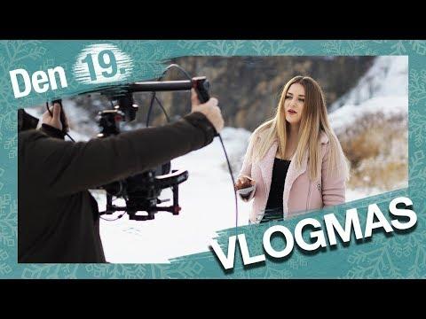 VLOGMAS Den 19. | Natáčení videoklipu a kurz módní kresby!
