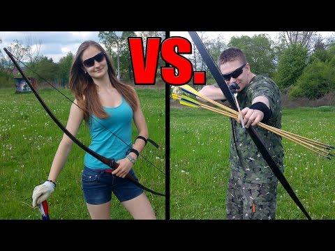 Lukostreľba - NeroN vs. Girlfriend SvK/Cz