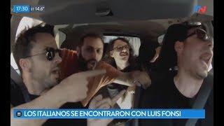 ¡Los italianos de 'Despacito' se encontraron con Luis Fonsi!