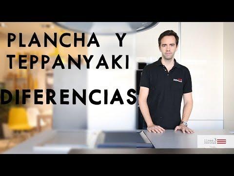 Diferencia entre plancha y teppanyaki