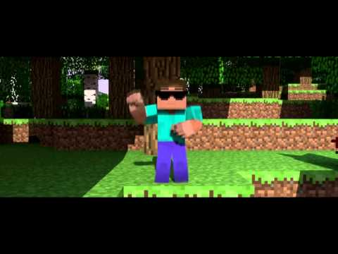Minecraft опа гам гам стайл:D