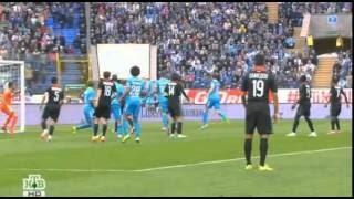 Игорь Смольников Гол Зенит - Локомотив 1-1 (5-3) Финал Суперкубок России 2015