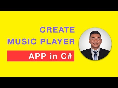 How to Create Music Player App in C Sharp (C#) within 25 Minutes?
