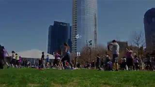 Downtown Dallas - Klyde Warren park video