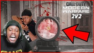 Loud Mouth Brothers Want ALL Of The Smoke! (Call of Duty 2v2 Gun Fight)