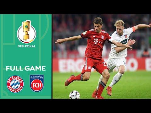 FC Bayern München vs. 1. FC Heidenheim 5-4 | Full Game | DFB Cup 2018/19 | Quarter Final