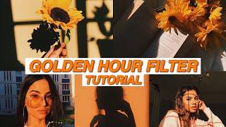 Fake Golden Hour Filter (Vsco Cam) | UnicornDaily