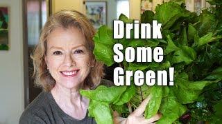 Early Morning Cool Season HARVEST   Making Green Juice