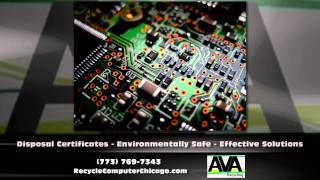 We do electronics Recycling for all of the Chicago residents and businesses. We be sure to use our pick up service.