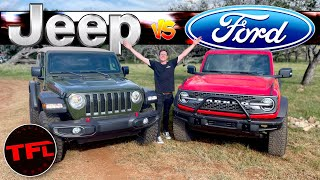 Has The Jeep Wrangler Finally Met Its Match? I Compare Them to Find Out!   Bronco Week Ep. 4
