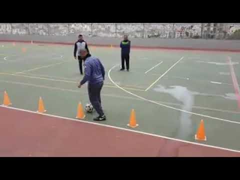 تدريب عملي لكرة قدم مع الدكتور محمود الاطرش