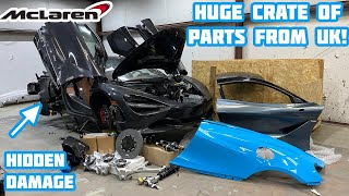 Rebuilding a Wrecked 2018 Mclaren 720s Part 4