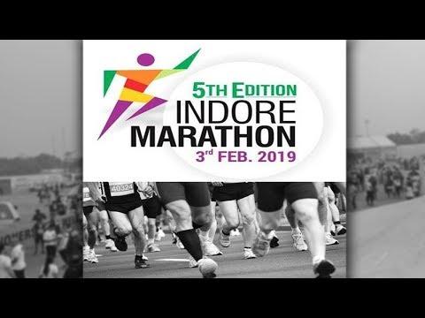 LIVE: (इंदौर ने रचा इतिहास) #YOUNGISTAN Indore Marathoners दौड़ रहा है इंदौर
