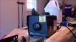 How to operate/use a fog machine and make thicker fog
