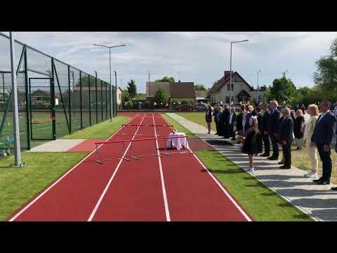 Wideo1: Otwarcie kompleksu sportowego na ternie Szkoły Podstawowej we Wroniawach