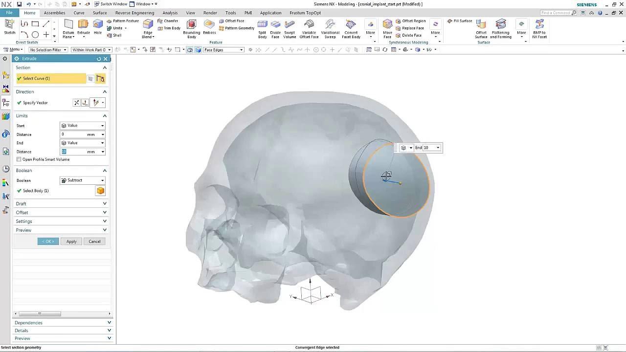 Vorschaubild: NX 11: Convergent Modeling