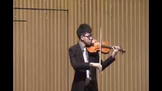 J.S. Bach Violin Sonata No.3 Fuga