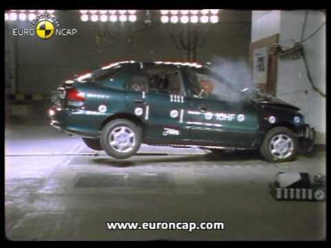 Euro NCAP | Hyundai Accent | 1998 | Crash test