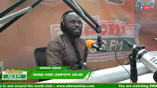 DWASO NSEM NEWSPAPER REVIEW - N'APOSO N'APOSO On Adom FM (22-2-19)