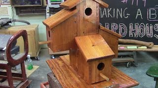 Building A Big Fancy Cedar Birdhouse MM 119