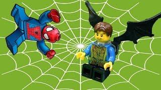 """""""Пальцы и ногти"""". Человек паук и оборотень, 2 серия. Лего мультик - анимация  2018"""