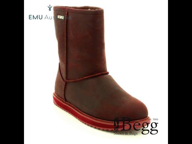 64535d0e9e EMU Australia Paterson Lo W11349-80 Purple ankle boots