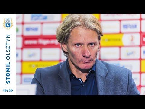 Konferencja prasowa po meczu Stomil Olsztyn - GKS Bełchatów