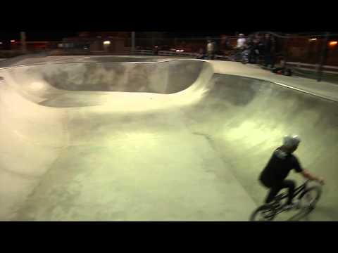 BMX Skatepark Video - Larry Edgar